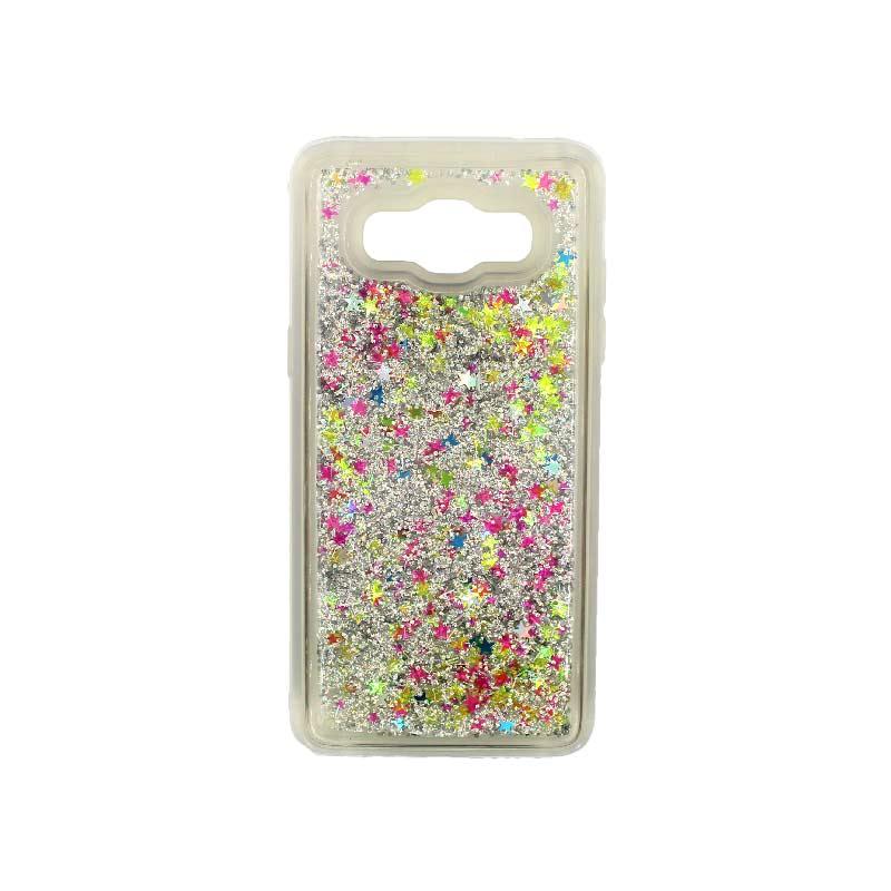 Θήκη Samsung Galaxy J7 2016 Liquid Glitter πολύχρωμο 1