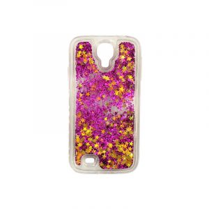 Θήκη Samsung Galaxy S4 Liquid Glitter φουξ 1