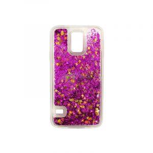 Θήκη Samsung Galaxy S5 Liquid Glitter φουξ 1