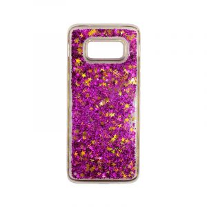 Θήκη Samsung Galaxy S8 Plus Liquid Glitter φουξ 1