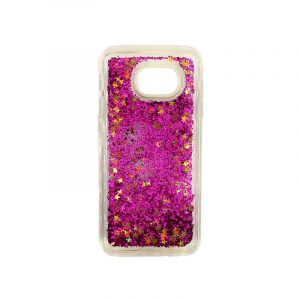 Θήκη Samsung Galaxy S7 Edge Liquid Glitter φουξ 1