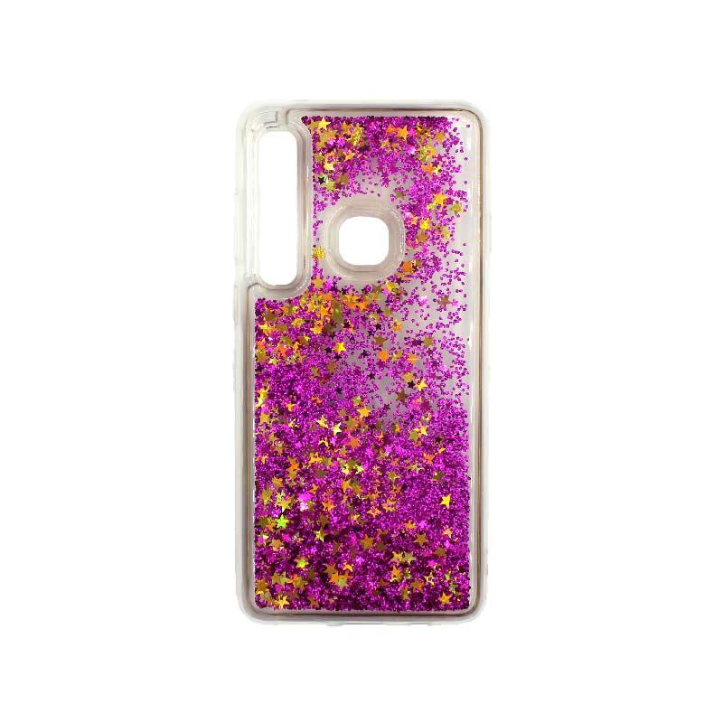 Θήκη Samsung Galaxy A9 2018 Liquid Glitter φουξ 1