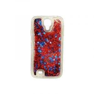 Θήκη Samsung Galaxy S4 Liquid Glitter κόκκινο 1