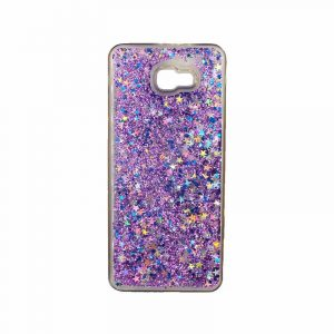 Θήκη Samsung Galaxy J4 Plus Liquid Glitter μωβ 1