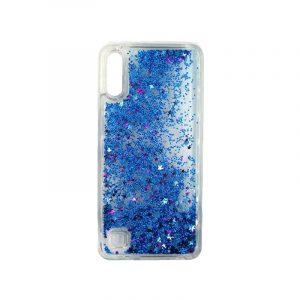Samsung Galaxy A10 / M10 Liquid Glitter μπλε 1