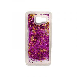Θήκη Samsung Galaxy A3 2016 Liquid Glitter μωβ 1