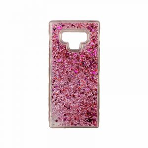 Θήκη Samsung Galaxy Note 9 Liquid Glitter μωβ 1