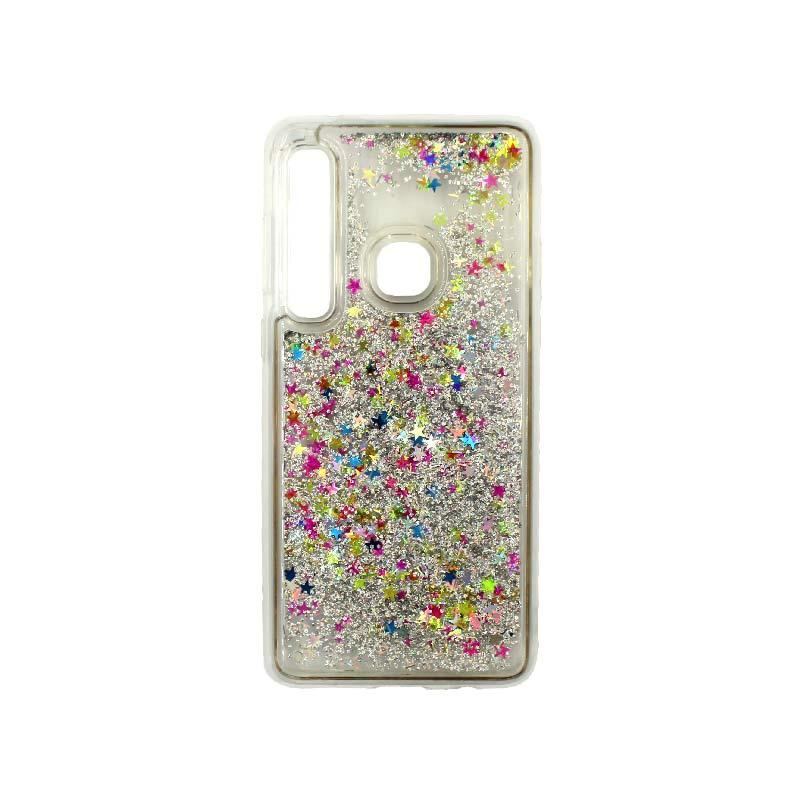 Θήκη Samsung Galaxy A9 2018 Liquid Glitter πολύχρωμο 1