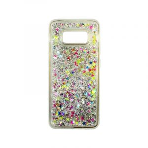 Θήκη Samsung Galaxy S8 Plus Liquid Glitter πολύχρωμο 1