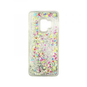 Θήκη Samsung Galaxy S9 Liquid Glitter πολύχρωμο 1