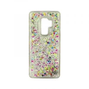 Θήκη Samsung Galaxy S9 Plus Liquid Glitter πολύχρωμο 1