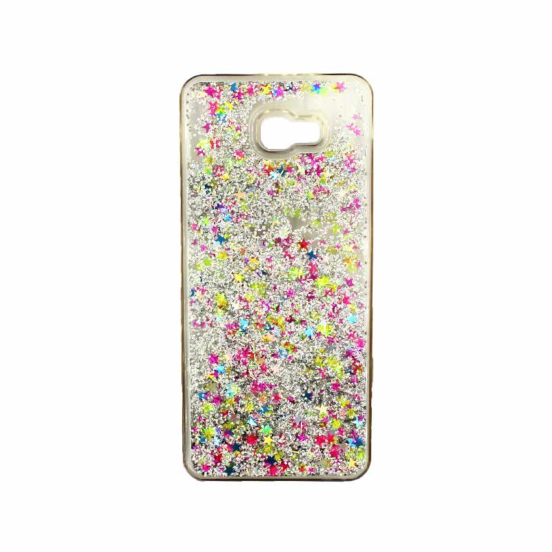 Θήκη Samsung Galaxy J4 Plus Liquid Glitter πολύχρωμο 1