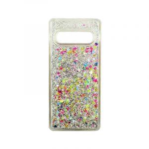 Θήκη Samsung Galaxy S10 Liquid Glitter πολύχρωμο 1