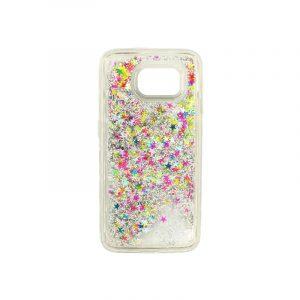 Θήκη Samsung Galaxy S6 Liquid Glitter πολύχρωμο 1
