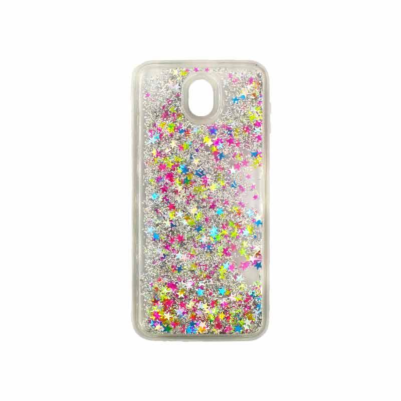 Θήκη Samsung Galaxy J3 2017 Liquid Glitter πολύχρωμο 1