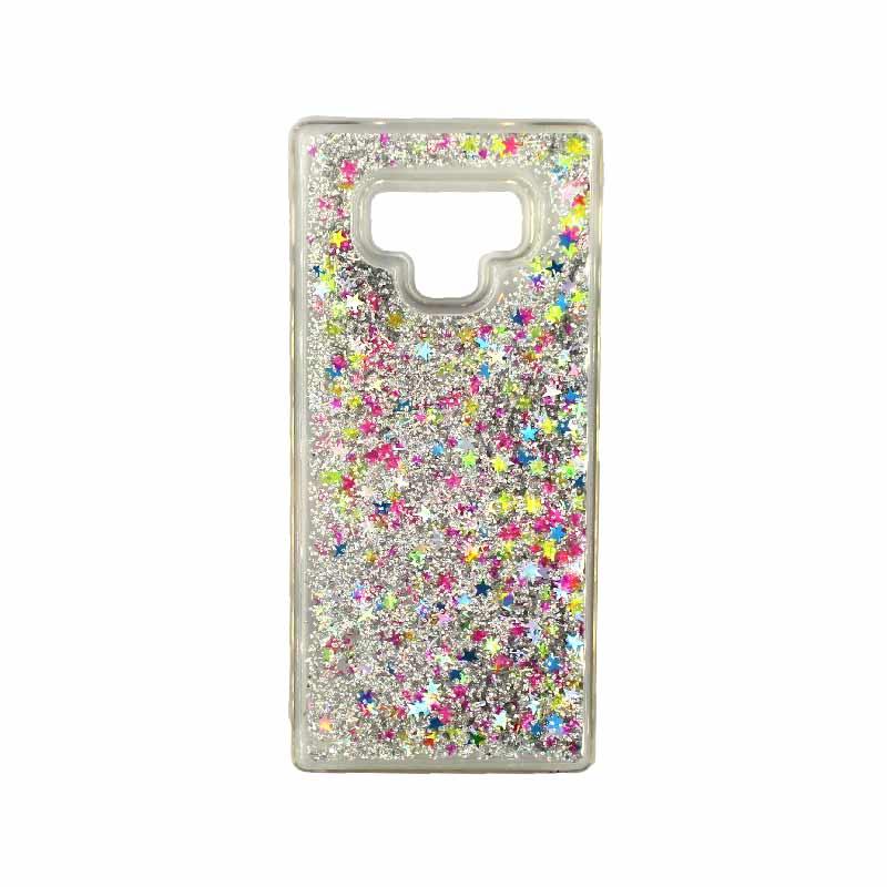 Θήκη Samsung Galaxy Note 9 Liquid Glitter πολύχρωμο 1