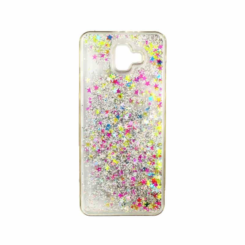 Θήκη Samsung Galaxy J6 Plus Liquid Glitter πολύχρωμο 1