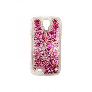 Θήκη Samsung Galaxy S4 Liquid Glitter ροζ 1