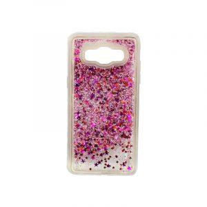 Θήκη Samsung Galaxy J5 2016 Liquid Glitter ροζ 1