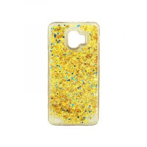 Θήκη Samsung Galaxy J2 Pro Liquid Glitter χρυσό 1