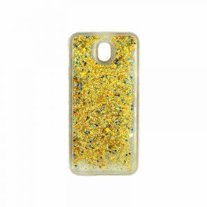 Θήκη Samsung Galaxy J5 2017 Liquid Glitter χρυσό 1