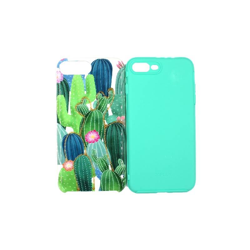 θήκη iphone 7 Plus / 8 Plus yellow cactus 2