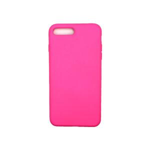 Θήκη iPhone 7 Plus / 8 Plus Silky and Soft Touch Silicone ανοιχτό φούξια 1