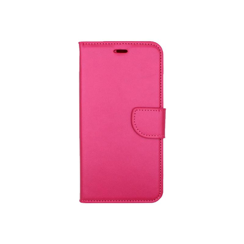 Θήκη iPhone 7 Plus / 8 Plus πορτοφόλι με κράτημα φουξ 1