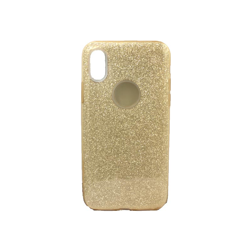 θήκη iphone X / XS / XR / XS MAX glitter χρυσό