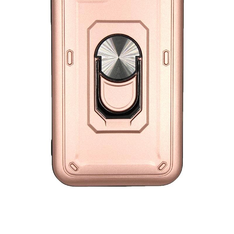 θήκη iphone 11 / 11 Pro σιλικόνη popsocket rose gold 2