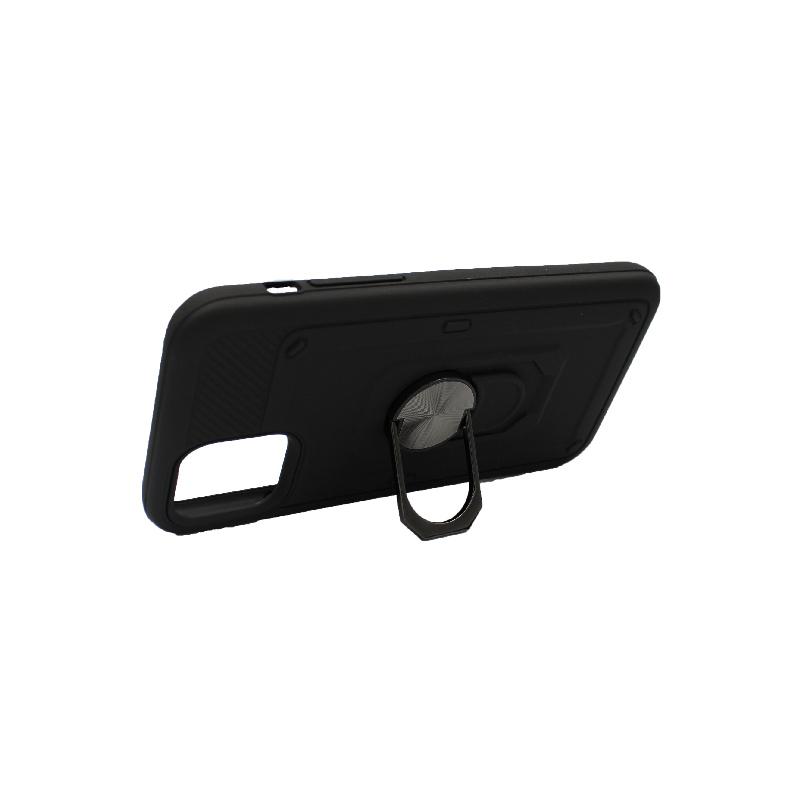 θήκη iphone 11 / 11 Pro σιλικόνη popsocket μαύρο 3