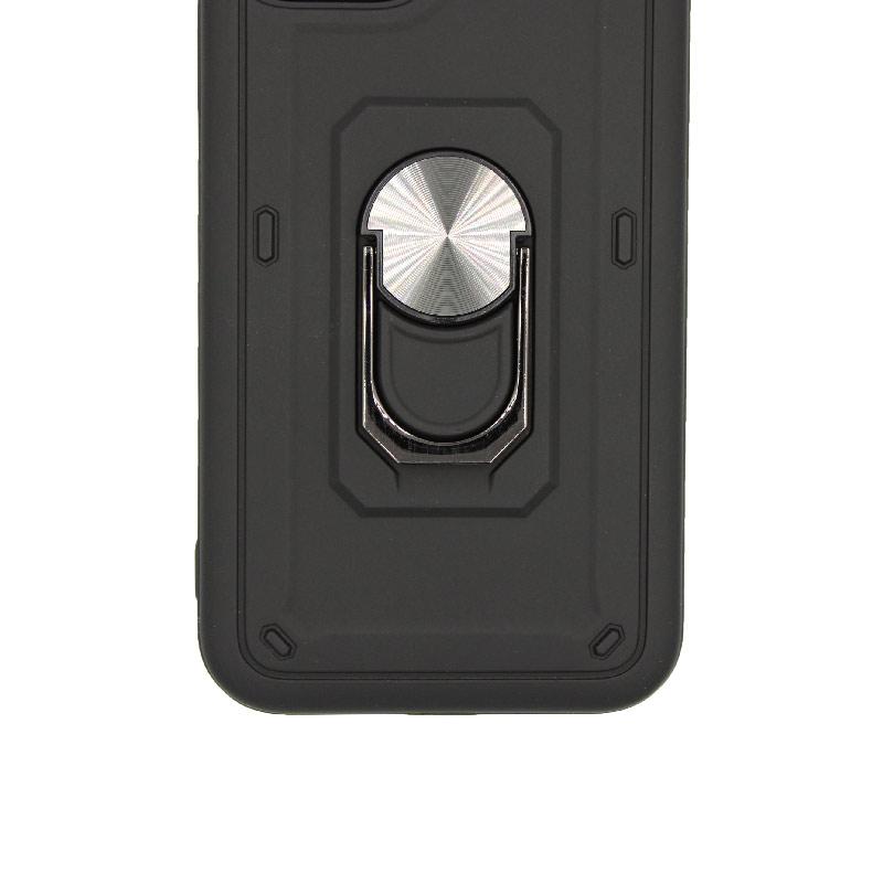 θήκη iphone 11 / 11 Pro σιλικόνη popsocket μαύρο 2