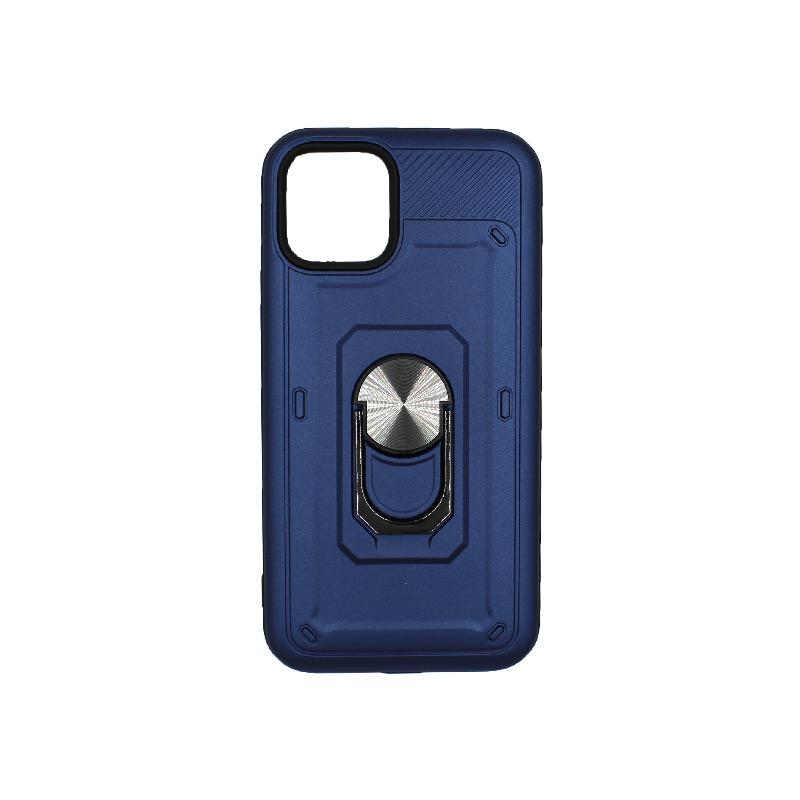 θήκη iphone 11 / 11 Pro σιλικόνη popsocket μπλε 1