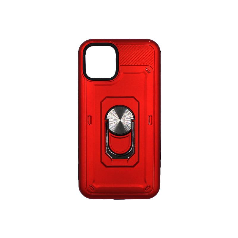 θήκη iphone 11 / 11 Pro σιλικόνη popsocket κόκκινο 1