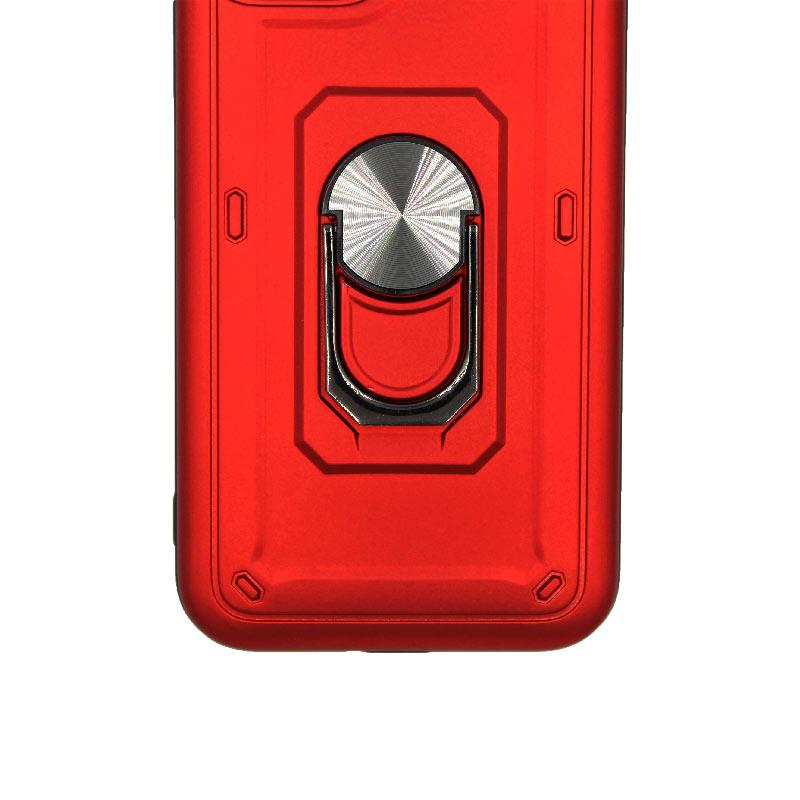θήκη iphone 11 / 11 Pro σιλικόνη popsocket κόκκινο 2