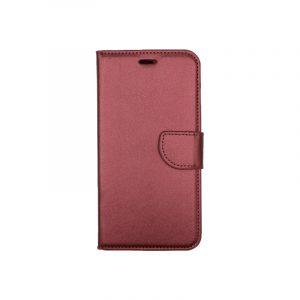 Θήκη iPhone 7 Plus / 8 Plus πορτοφόλι με κράτημα μπορντό 1