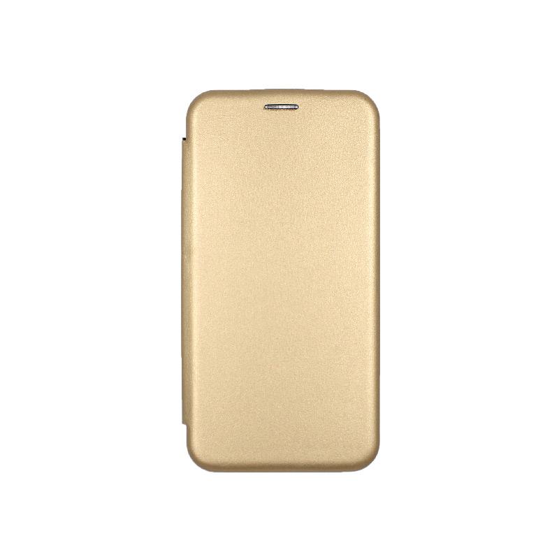 θήκη iphone 11 pro max πορτοφόλι χρυσό 1
