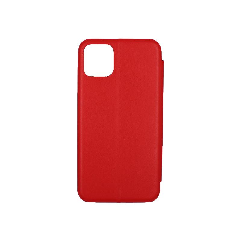 θήκη iphone 11 pro πορτοφόλι κόκκινο 2