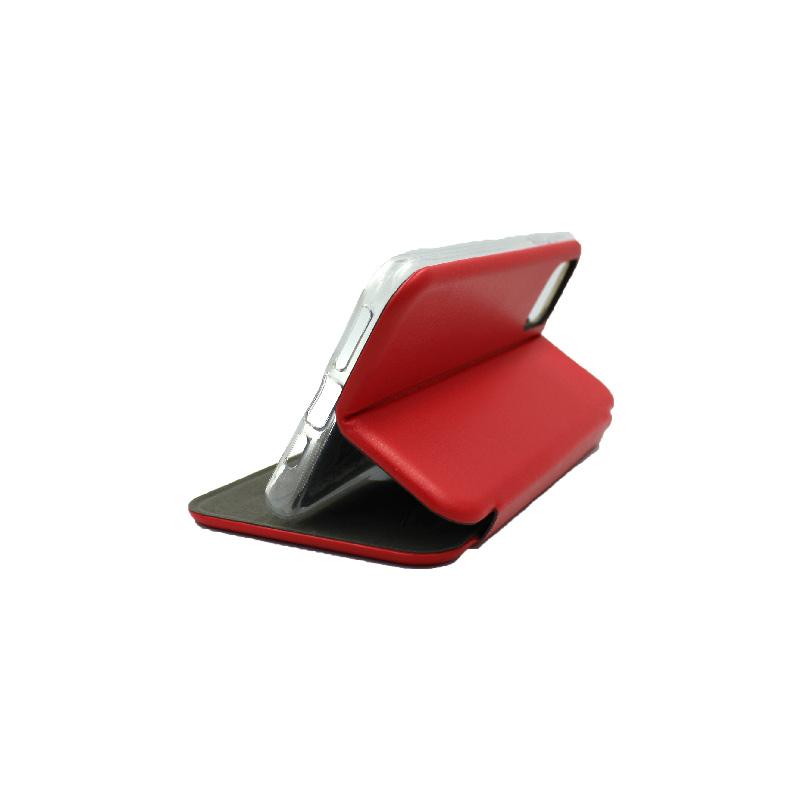 θήκη iphone 11 pro πορτοφόλι κόκκινο 5