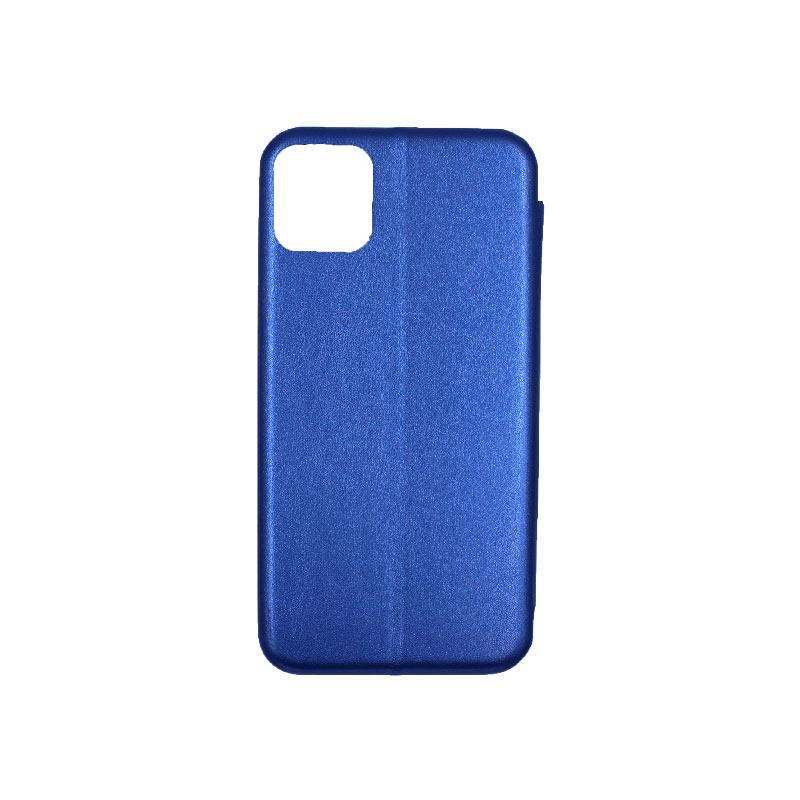 θήκη iphone 11 pro πορτοφόλι μπλε 2