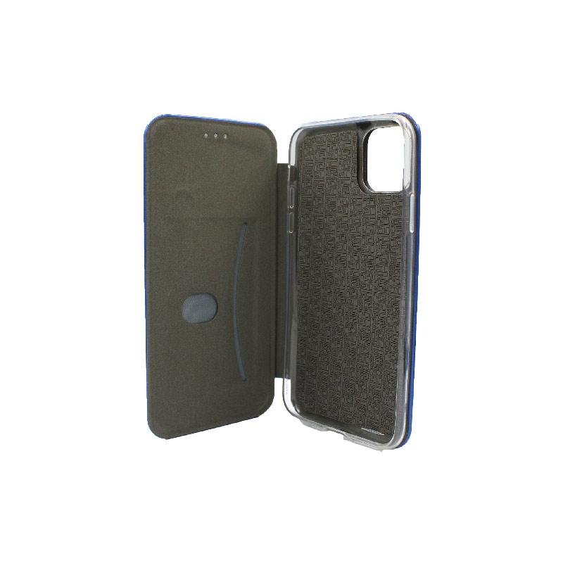 θήκη iphone 11 pro πορτοφόλι μπλε 4