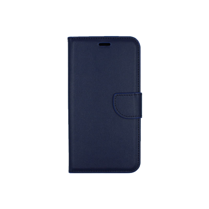 θήκη iphone 6 plus πορτοφόλι με κράτημα μπλε 1
