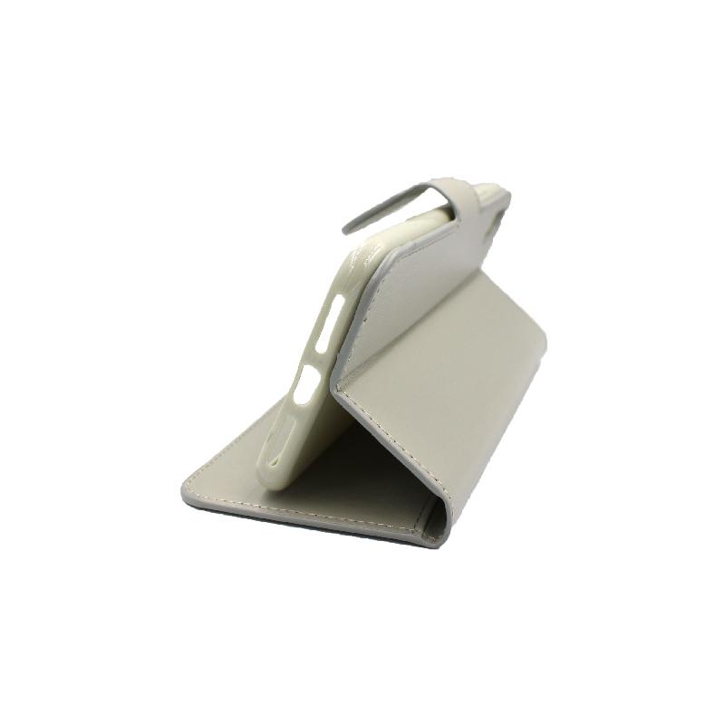 θήκη iphone X / Xs / XR / Xs Max πορτοφόλι με λουράκι γκρι 3