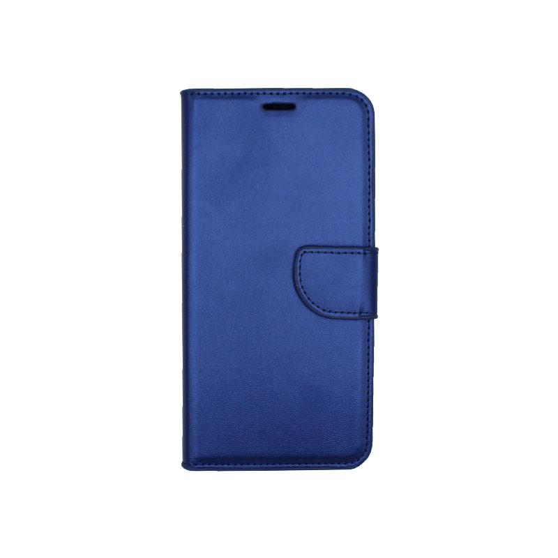 Θήκη Samsung Galaxy Α7 2018 Wallet μπλε 1