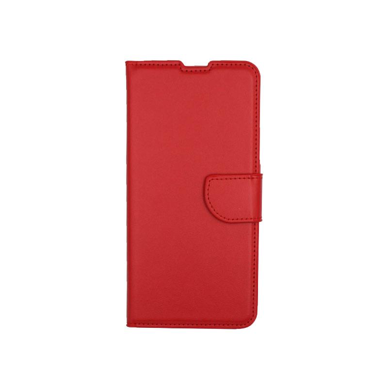 Θήκη Samsung Galaxy A80 / Α90 Wallet κόκκινο 1
