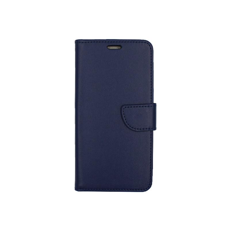 Θήκη Samsung Galaxy A10 / M10 Wallet μπλε 1