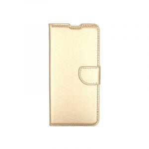 Θήκη Samsung Galaxy A80 / Α90 Wallet χρυσό 1