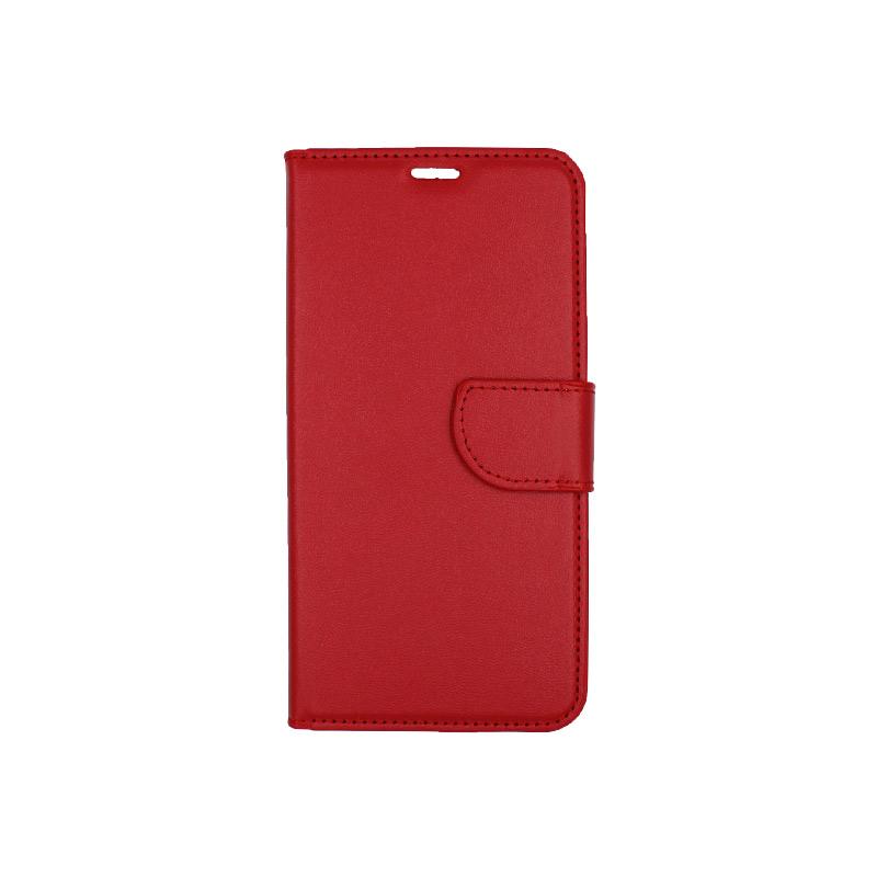 θήκη iphone 11 pro max πορτοφόλι με λουράκι κόκκινο 1