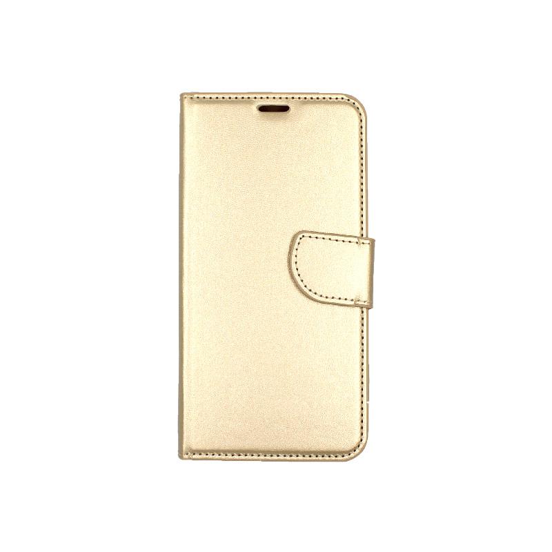 θήκη iphone 11 pro πορτοφόλι με λουράκι χρυσό 1