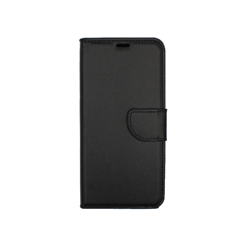 Θήκη Samsung Galaxy A6 Plus / J8 2018 Wallet μαύρο 1